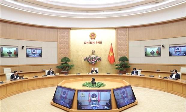 阮春福总理:严格处理不遵守社会距离规定的人员 hinh anh 1