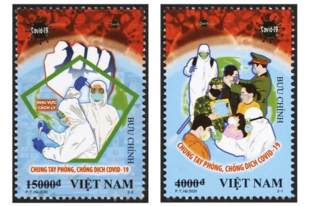英国《卫报》对越南新冠肺炎疫情防控宣传海报给予称赞 hinh anh 2