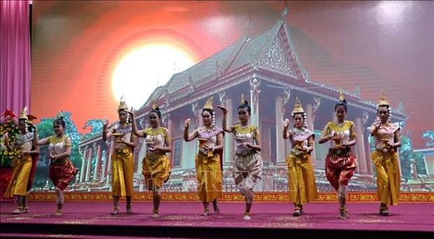 新冠肺炎疫情:动员南部高棉族同胞居家迎接传统新年 hinh anh 1