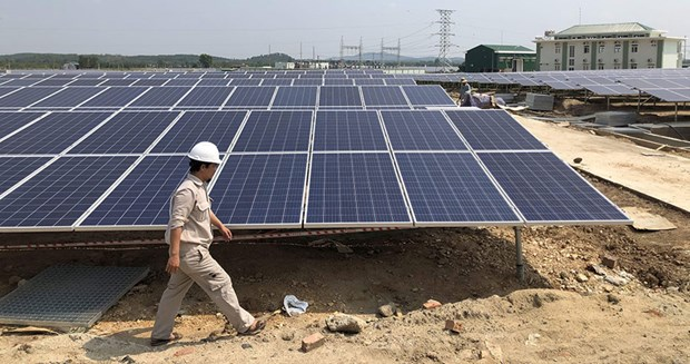 越南政府推出刺激太阳能发电发展的机制 hinh anh 1