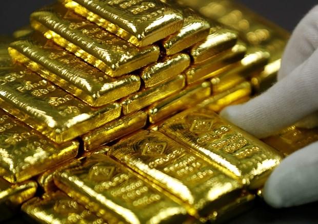越南国内黄金价格保持在4800万越盾以上 hinh anh 1