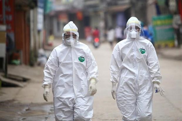 新冠肺炎疫情:河内市新增15个快速反应队尽快消除夏雷村疫区病毒 hinh anh 2