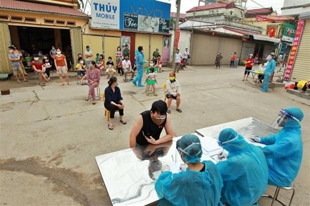 13日上午越南新增2例新冠肺炎确诊病例 累计262例 hinh anh 1