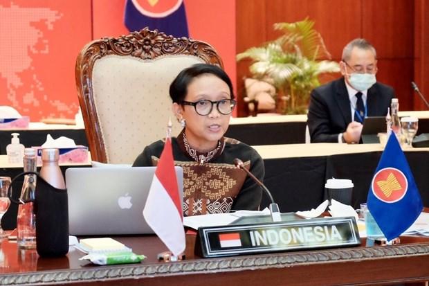 印尼总统将出席东盟有关新冠肺炎疫情的两个特别会议 hinh anh 1