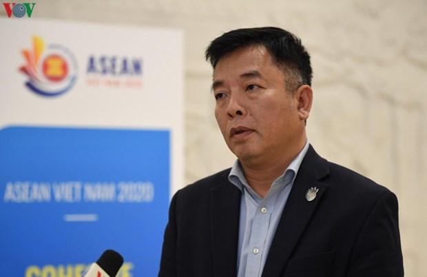 """东盟2020年:东盟强调对携手建设一个""""齐心协力与主动应对""""共同体的高度决心 hinh anh 1"""