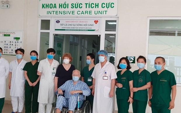新冠肺炎疫情:4月14日越南全国治愈病例为22例 hinh anh 1