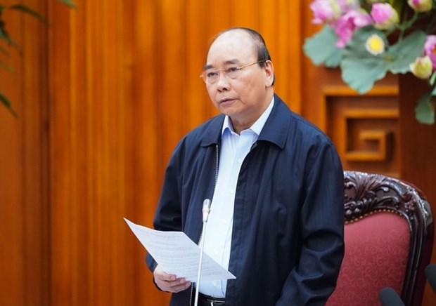 越南政府总理要求制定《2021-2025五年经济社会发展计划》 hinh anh 1