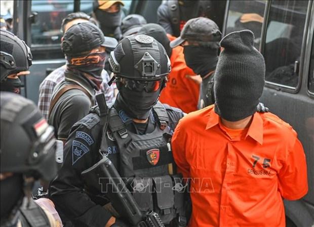 印尼抓获4名恐怖嫌疑人 hinh anh 1