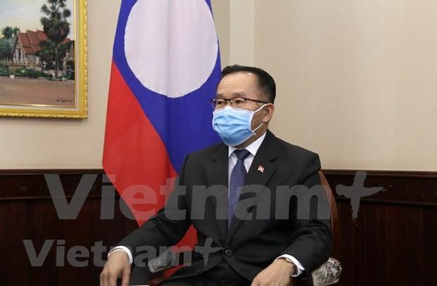 老挝外交部副部长:越南为实现东盟轮值主席年五大优先目标提出许多倡议 hinh anh 1