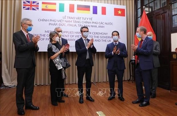德国外交部感谢越南政府和人民为防疫工作所给予的帮助 hinh anh 1