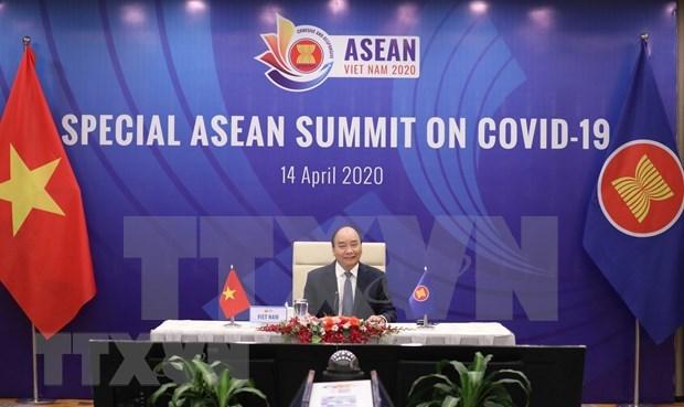 进一步促进东盟和东盟与中日韩合作抗击疫情以保障活跃可持续发展 hinh anh 1