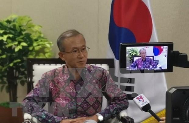 团结协作精神是东盟与中韩日抗击新冠肺炎疫情领导人特别会议的最大成功 hinh anh 1