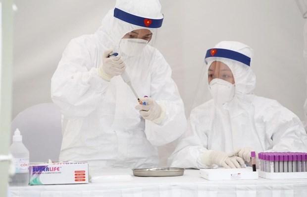 截至15日上午越南新增一例新冠肺炎确诊病例 累计达267例 hinh anh 1