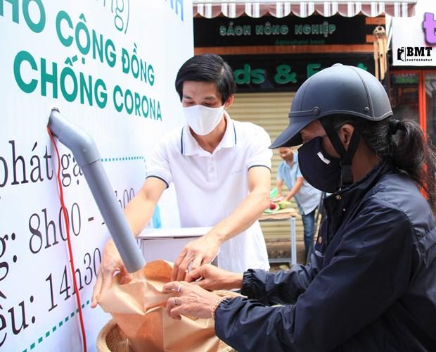 """外国媒体对越南的自动""""取米机""""印象深刻 hinh anh 1"""
