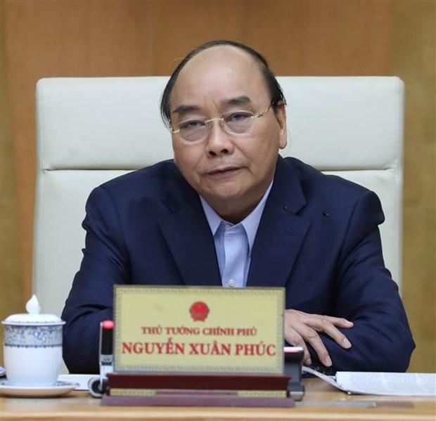 阮春福总理:应谨慎、同步和符合每个省市的具体情况逐步减少实施社会距离措施 hinh anh 3