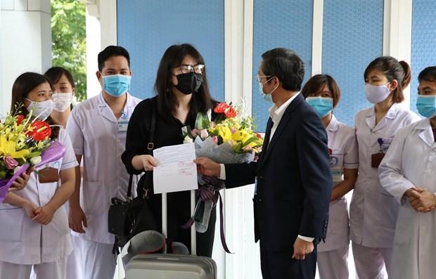 宁平与广宁两省公布新冠肺炎治愈患者 越南累计治愈患者177人 hinh anh 1