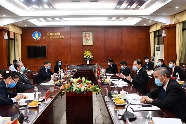 越南与中国寻找措施促进农产品贸易 hinh anh 1