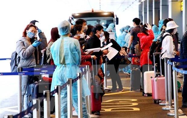 新冠肺炎疫情:广宁省制定迎接和隔离入境越南的外国企业人员的计划方案 hinh anh 1