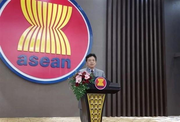 中国支持东盟轮值主席国越南开展的活动 hinh anh 1