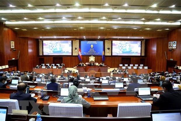 柬埔寨参议院通过《国家紧急状态法》(草案) hinh anh 1