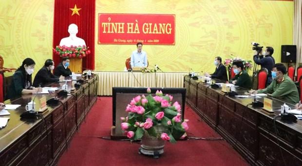 河江省对第268例病例所居住的拼统村实施封锁 对其接受治疗的门诊和医院进行隔离 hinh anh 1