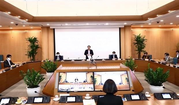 新冠肺炎疫情:河内市为企业疏解困难 hinh anh 3