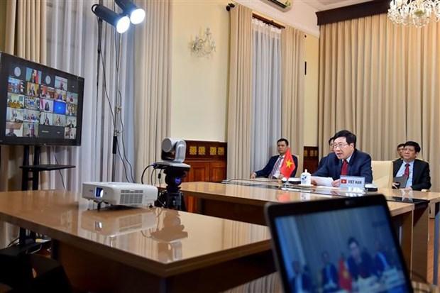 多边主义联盟召开视频会议讨论新冠肺炎疫情防控的国际协作和多边合作 hinh anh 2