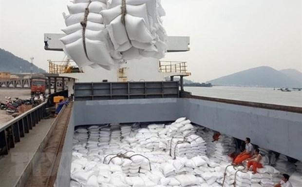 超过4000吨大米获得清关 hinh anh 1