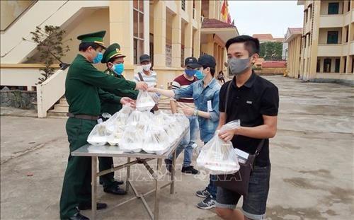 边境人民的支持是边防部队抗击疫情的巨大动力 hinh anh 1