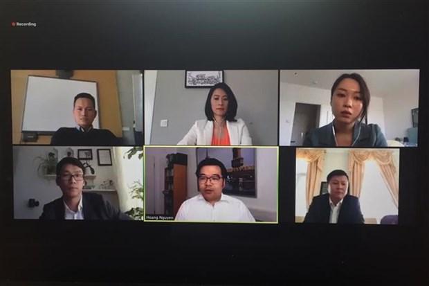 """题为""""新冠肺炎疫情期间旅居德国越南人""""的视频研讨会在德国举行 hinh anh 2"""