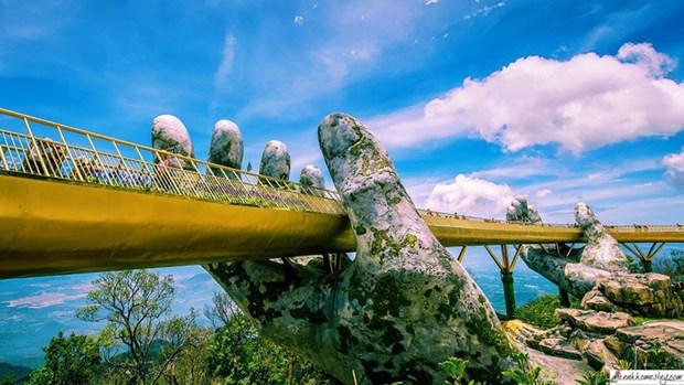 岘港市金桥被评为世界最美桥梁之一 hinh anh 1