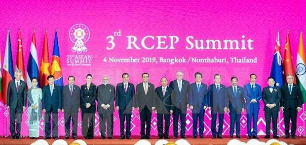 《区域全面经济伙伴关系协定》致力于今年年底在越南签署 hinh anh 1