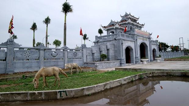 北江省努力发挥昌江国家级特殊历史遗迹的价值 hinh anh 2