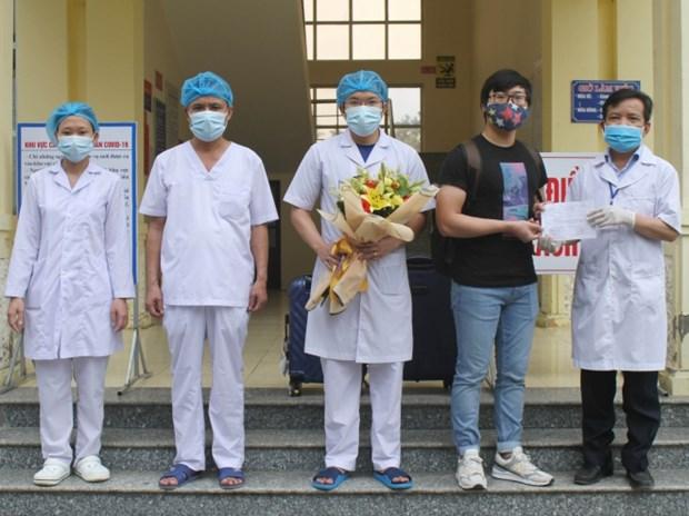 新冠肺炎疫情:20日新增治愈出院病例5例 hinh anh 1