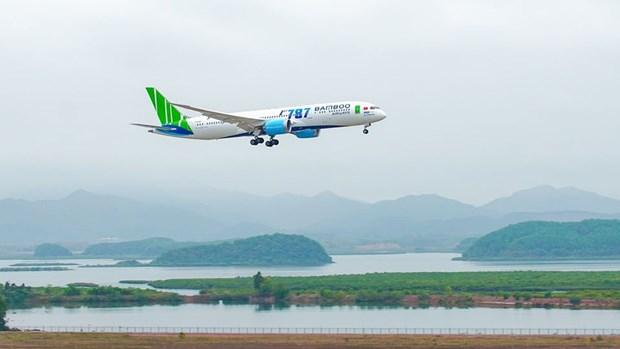 越竹航空公司4月18日起将河内市飞往胡志明市航线增至每日往返两个班次 hinh anh 1