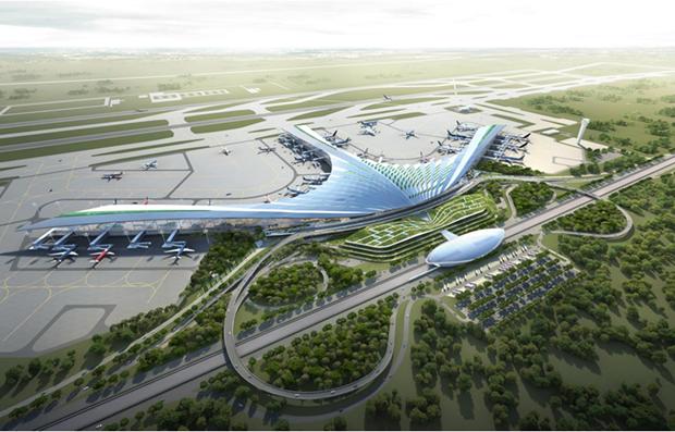 龙城机场项目的安置小区正式开工 hinh anh 1