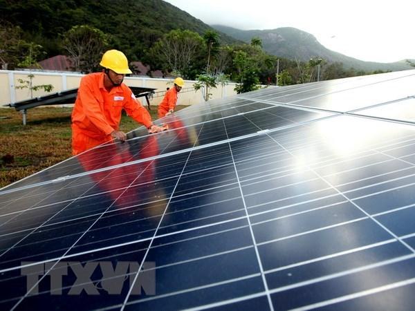 越南努力制定2020年后太阳能发电发展机制与政策 hinh anh 1