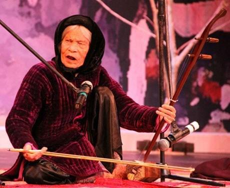 盲人曲——需要保护的越南民间音乐 hinh anh 1