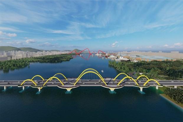广宁省计划4月底动工兴建跨过绿门湾的两座桥梁 hinh anh 1