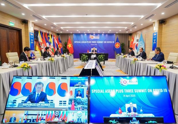 越南在二十国集团卫生部长视频会议上分享防疫经验 hinh anh 2