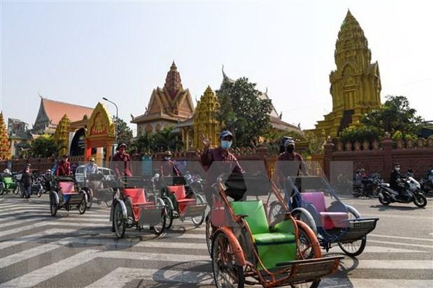 柬埔寨政府预测该国经济会实现V型复苏 hinh anh 1