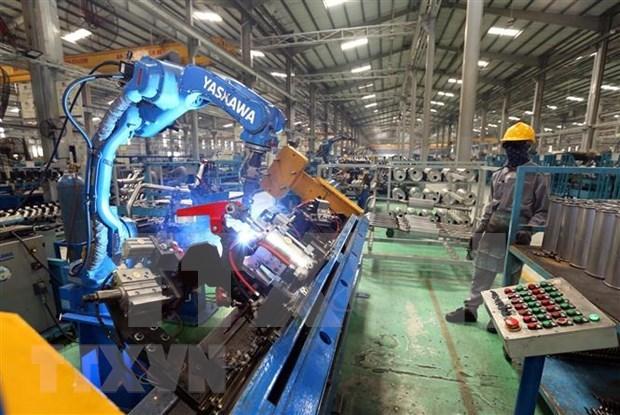 越南THACO公司5月底对美出口半挂车 hinh anh 1