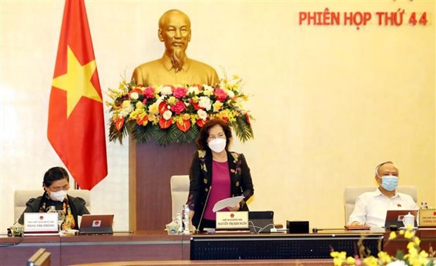越南国会常委会第44次会议在河内召开 hinh anh 1