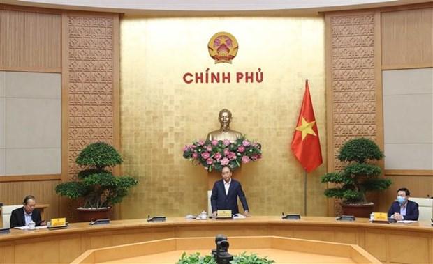政府总理阮春福:河内市需大力同步展开促进经济恢复和发展措施 hinh anh 1