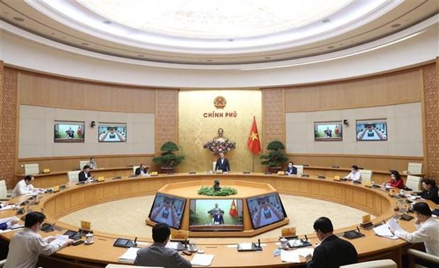 政府总理阮春福:河内市需大力同步展开促进经济恢复和发展措施 hinh anh 2