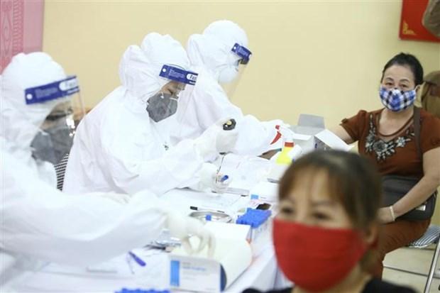 越南基本满足新冠病毒检测需要 hinh anh 1