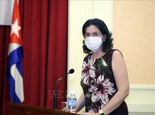 越南与古巴加强新冠肺炎疫情防控工作的合作 hinh anh 1