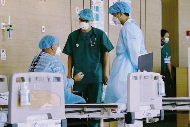 胡志明市制定医疗机构内新冠肺炎疫情传播风险评估标准 hinh anh 1