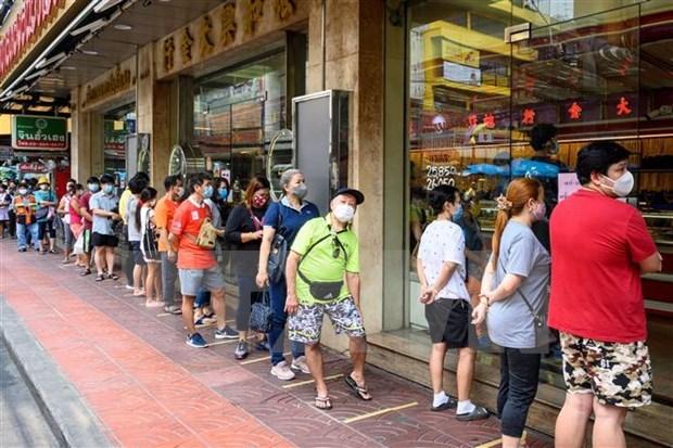 泰国拟放宽部分地区封锁措施 hinh anh 1