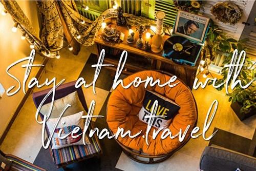 """针对外国游客的""""跟越南一起在家""""产品正式亮相 hinh anh 1"""